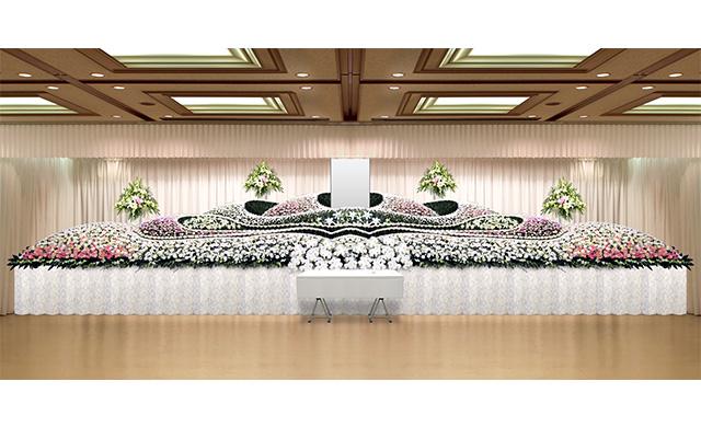社葬祭壇B